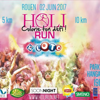 Holi run Rouen
