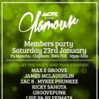 Clubbing Move presents Glamour - Label Showcase Party Samedi 23 janvier 2016